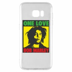 Чехол для Samsung S7 EDGE Bob Marley One Love