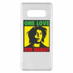 Чехол для Samsung Note 8 Bob Marley One Love