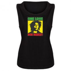 Женская майка Bob Marley One Love - FatLine