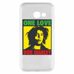 Чехол для Samsung A3 2017 Bob Marley One Love