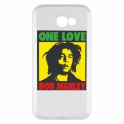 Чехол для Samsung A7 2017 Bob Marley One Love