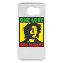 Чехол для Samsung S6 Bob Marley One Love