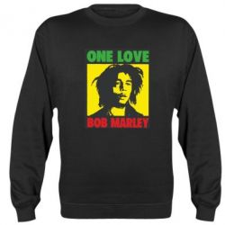 Реглан (свитшот) Bob Marley One Love