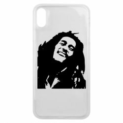 Чехол для iPhone Xs Max Bob Marley - FatLine