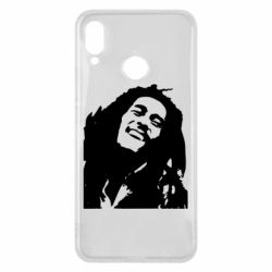 Чехол для Huawei P Smart Plus Bob Marley - FatLine