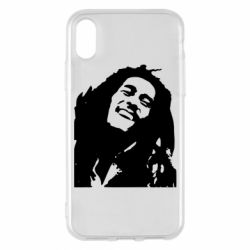 Чехол для iPhone X Bob Marley - FatLine