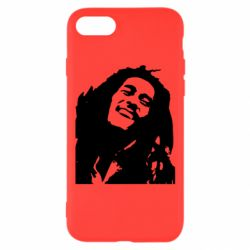 Чехол для iPhone 8 Bob Marley - FatLine