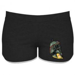 Женские шорты Boba Fett