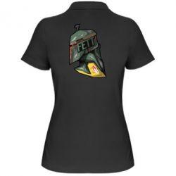 Женская футболка поло Boba Fett - FatLine