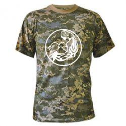 Камуфляжна футболка Бодібілдинг - FatLine