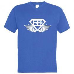 Мужская футболка  с V-образным вырезом Body Engineers