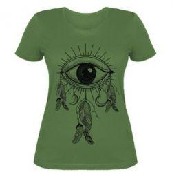 Купить Женская футболка Boho Eye, FatLine