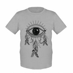 Купить Детская футболка Boho Eye, FatLine