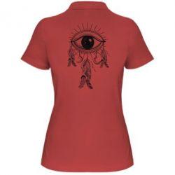 Купить Женская футболка поло Boho Eye, FatLine