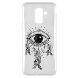 Купить Mokkinen, Чехол для Samsung A6+ 2018 Boho Eye, FatLine