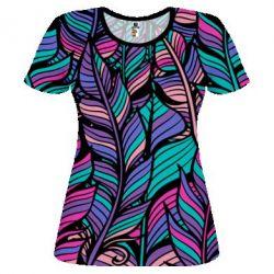 Купить Женская 3D футболка Boho style, FatLine