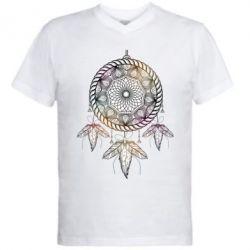 Купить Мужская футболка с V-образным вырезом Boho2, FatLine