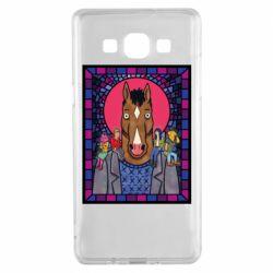 Чехол для Samsung A5 2015 Bojack Horseman icon