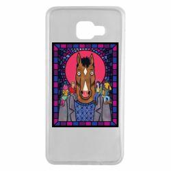 Чехол для Samsung A7 2016 Bojack Horseman icon