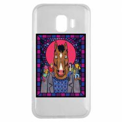 Чехол для Samsung J2 2018 Bojack Horseman icon