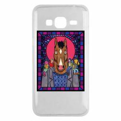 Чехол для Samsung J3 2016 Bojack Horseman icon