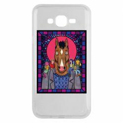 Чехол для Samsung J7 2015 Bojack Horseman icon