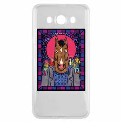 Чехол для Samsung J7 2016 Bojack Horseman icon