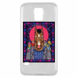 Чехол для Samsung S5 Bojack Horseman icon