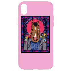 Чехол для iPhone XR Bojack Horseman icon