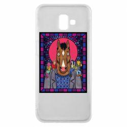 Чехол для Samsung J6 Plus 2018 Bojack Horseman icon