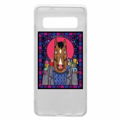Чехол для Samsung S10 Bojack Horseman icon