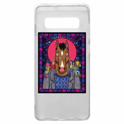 Чехол для Samsung S10+ Bojack Horseman icon