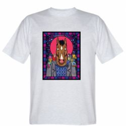 Мужская футболка Bojack Horseman icon
