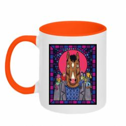 Кружка двухцветная 320ml Bojack Horseman icon