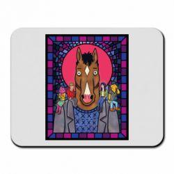 Коврик для мыши Bojack Horseman icon