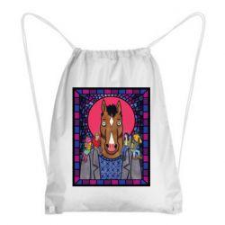 Рюкзак-мешок Bojack Horseman icon