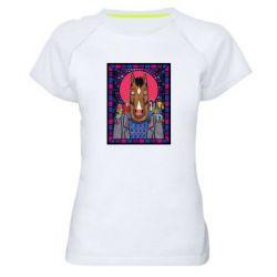 Женская спортивная футболка Bojack Horseman icon