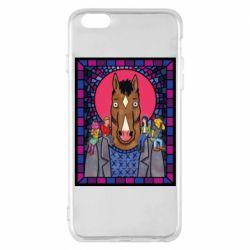 Чехол для iPhone 6 Plus/6S Plus Bojack Horseman icon