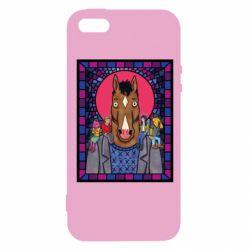 Чехол для iPhone5/5S/SE Bojack Horseman icon