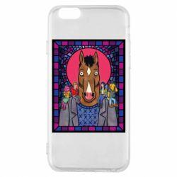 Чехол для iPhone 6/6S Bojack Horseman icon