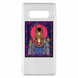 Чехол для Samsung Note 8 Bojack Horseman icon