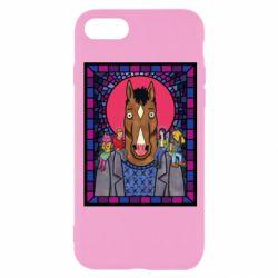 Чехол для iPhone 8 Bojack Horseman icon