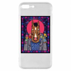Чехол для iPhone 8 Plus Bojack Horseman icon