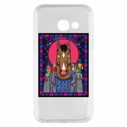 Чехол для Samsung A3 2017 Bojack Horseman icon