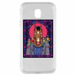 Чехол для Samsung J3 2017 Bojack Horseman icon