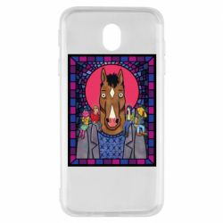 Чехол для Samsung J7 2017 Bojack Horseman icon