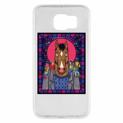 Чехол для Samsung S6 Bojack Horseman icon