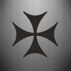 Наклейка Болнисский крест - FatLine