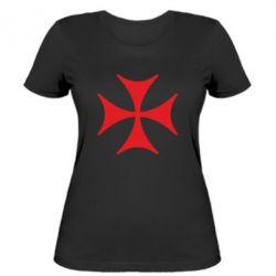 Женская футболка Болнисский крест - FatLine