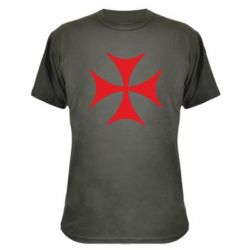 Камуфляжная футболка Болнисский крест - FatLine